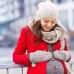 Mẹ bầu mặc ấm áp vào mùa đông