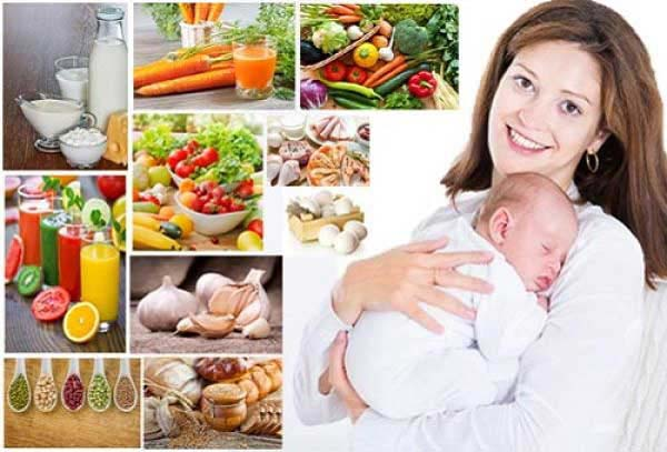 Phụ nữ sau sinh nên ăn uống như thế nào