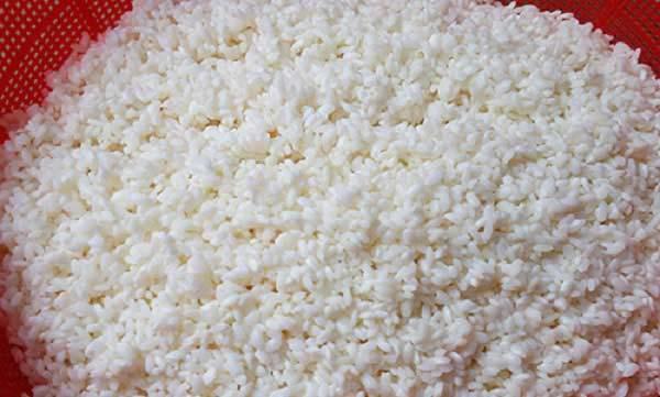 Sơ chế gạo nếp
