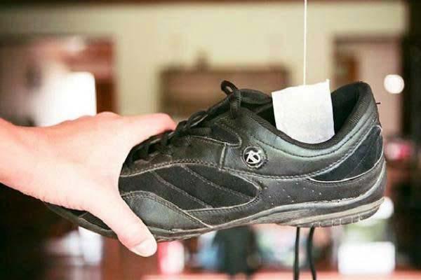 Khử mùi hôi giày bằng than hoạt tính