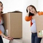 Phụ nữ mang thai tránh vận động mạnh