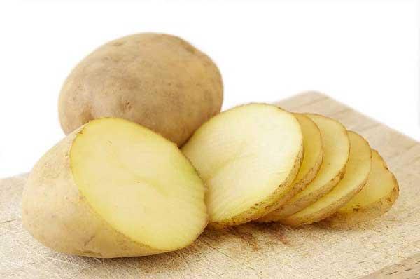 Xử lý món ăn mặn bằng khoai tây