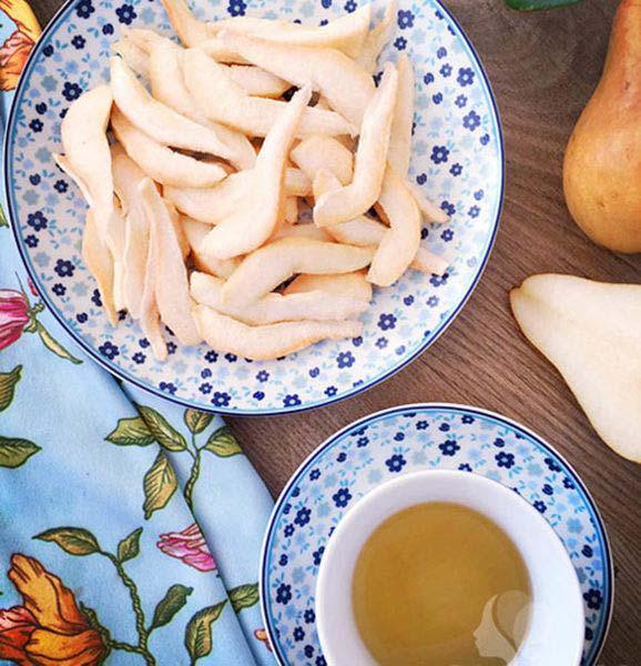 Lê sấy món nhâm nhi thích hợp cho ngày tết