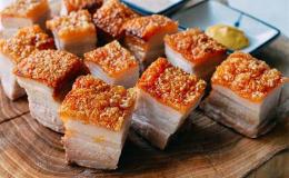 Cách làm thịt heo quay da giòn tại nhà bằng lò nướng