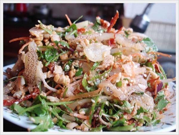 Món ăn chống ngán ngày tết: Nộm sứa