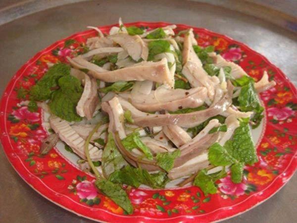 Món ăn chống ngấy ngày tết: Dạ dày trộn