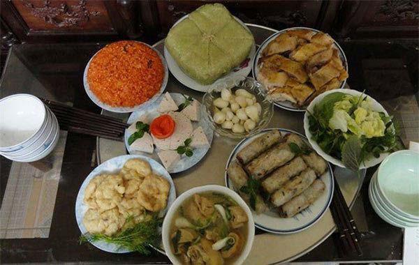 Các món ăn trong ngày tết của người miền bắc