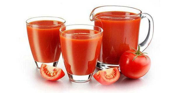 Nước ép cà chua giúp bạn bù đắp những lương nguyên tố mất đi