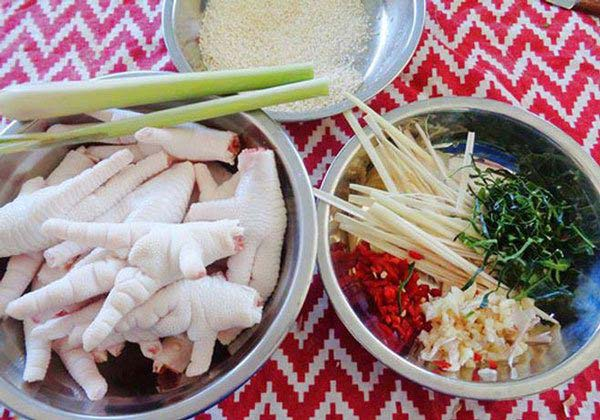 Chân gà sả ớt cực dễ làm, ăn là ghiền
