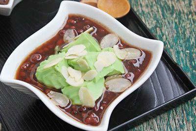 Cách nấu chè đậu đỏ thạch dừa ngon