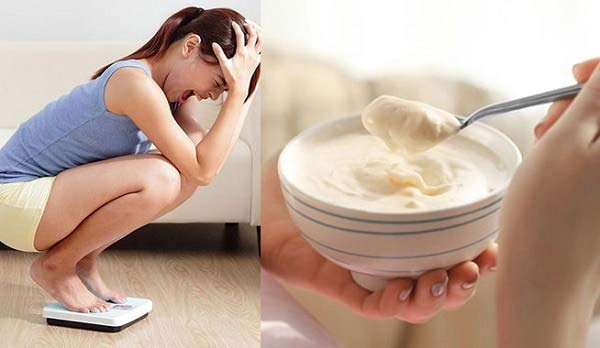 thực đơn giảm cân với sữa chua