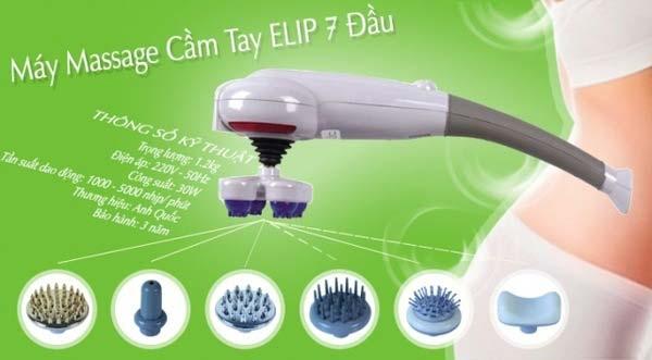 Máy massage elip cầm tay 7 đầu