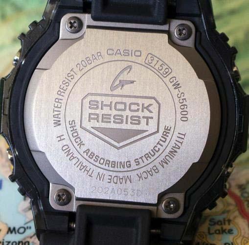 Kiểm tra số seri của đồng hồ G Shock