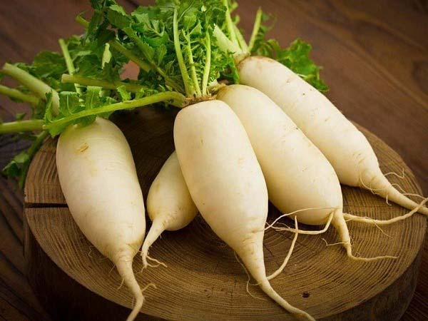 Củ cải trắng có tác dụng gì