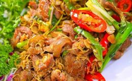Dê xào sả ớt: Món ăn ngon cho ngày cuối tuần vui vẻ