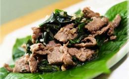 Thịt dê xào lá lốt – món ngon thơm nức mũi khiến cả nhà cùng mê