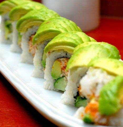 sushi bơ