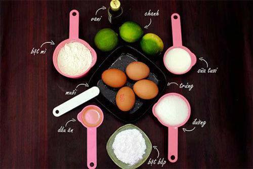 Cách làm bánh bông lan bằng nồi cơm điện