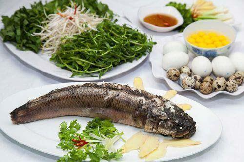 cách nấu cháo cá lóc