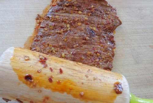 chế biến thịt bò khô