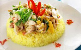 Cách nấu cơm gà Tam Kỳ thơm ngon đậm đà miền Trung