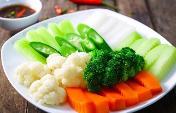Các loại rau không nên luộc