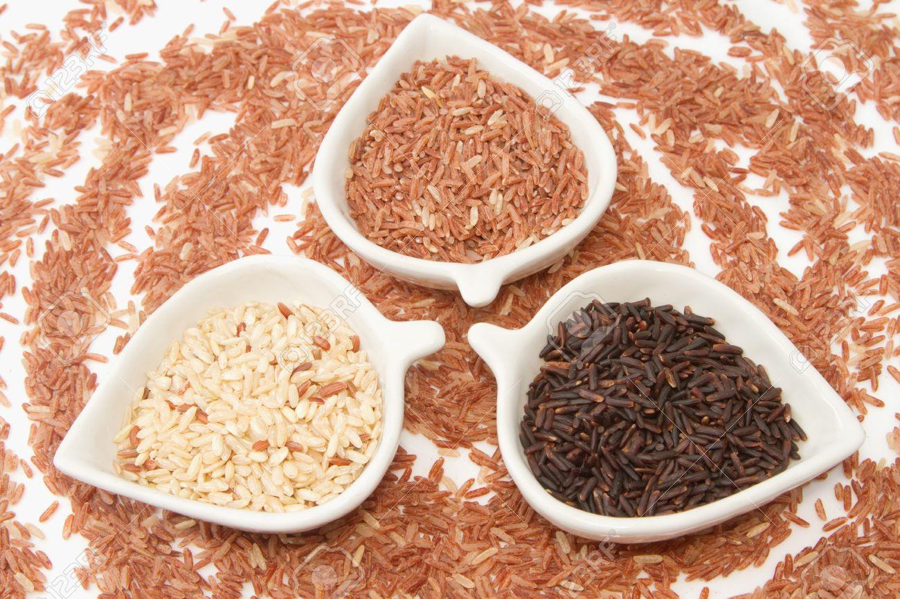 Gạo lứt có nhiều loại