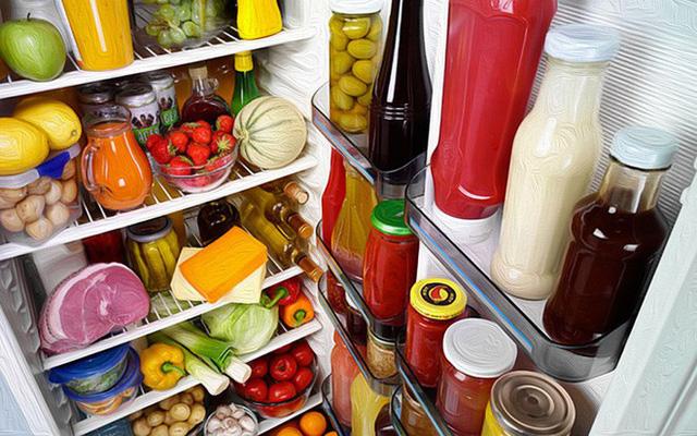 Thực phẩm sợ tủ lạnh