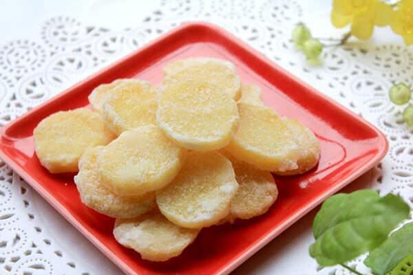 Làm mứt khoai tây không cần nước vôi trong