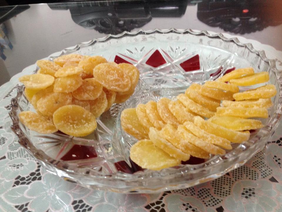 Mứt khoai tây thơm ngon
