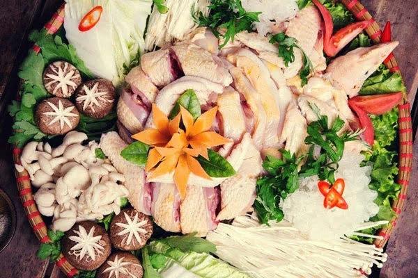 cách nấu lẩu gà ngon miền bắc