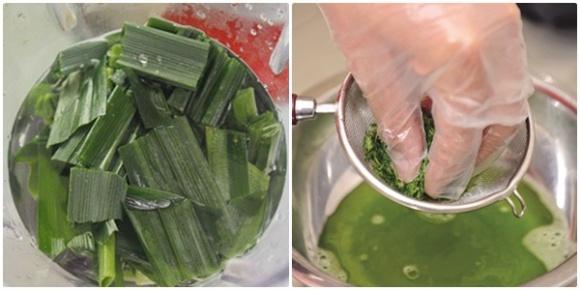 Cách làm rau câu lá dúa không bị đắng