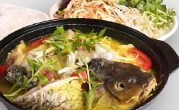 Cách nấu lẩu cá chép giòn măng chua ngon tại nhà vô cùng đơn giản