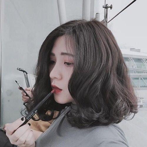 Mái tóc xoăn sóng