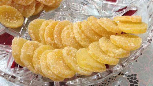 Món mứt khoai tây