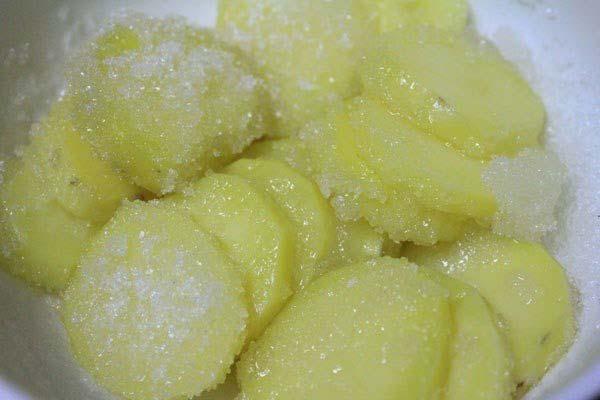 Khoai tây ướp đường