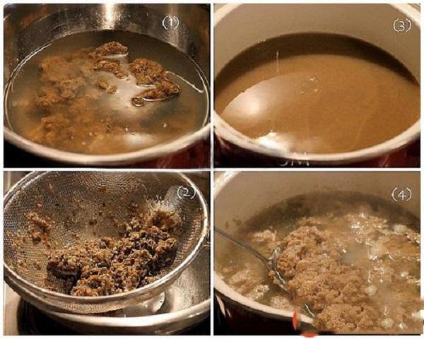 Cách nấu riêu cua