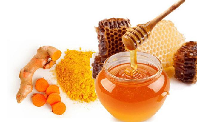 Nghệ và mật ong