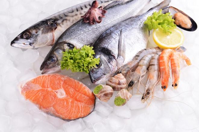 Thịt hải sản tốt cho sức khỏe