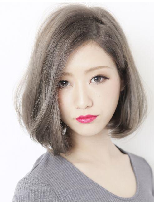 Tóc ngắn mái dài duỗi cúp