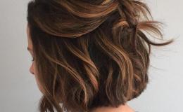 Tóc ngắn xoăn sóng nước-xu hướng tóc mới ấn tượng
