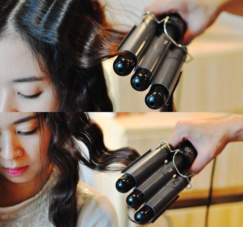 Cách làm tóc ngắn uốn gợn sóng
