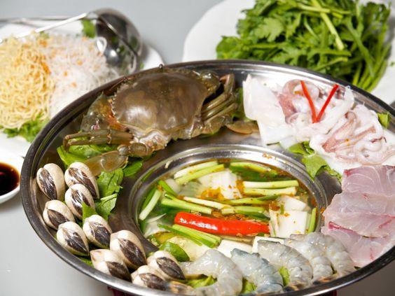 nước lẩu hải sản gồm những gì