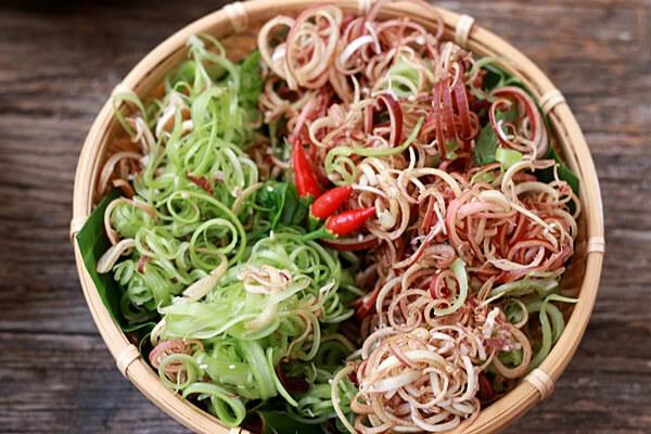 Các loại rau ăn lẩu thái
