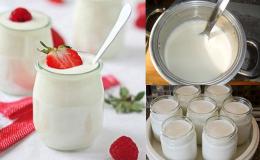 Cách làm sữa chua bằng máy ngon mịn như ngoài hàng mà chị em cần biết