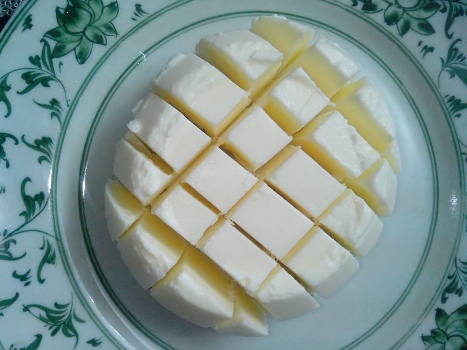 Làm sữa chua dẻo bằng bột rau câu