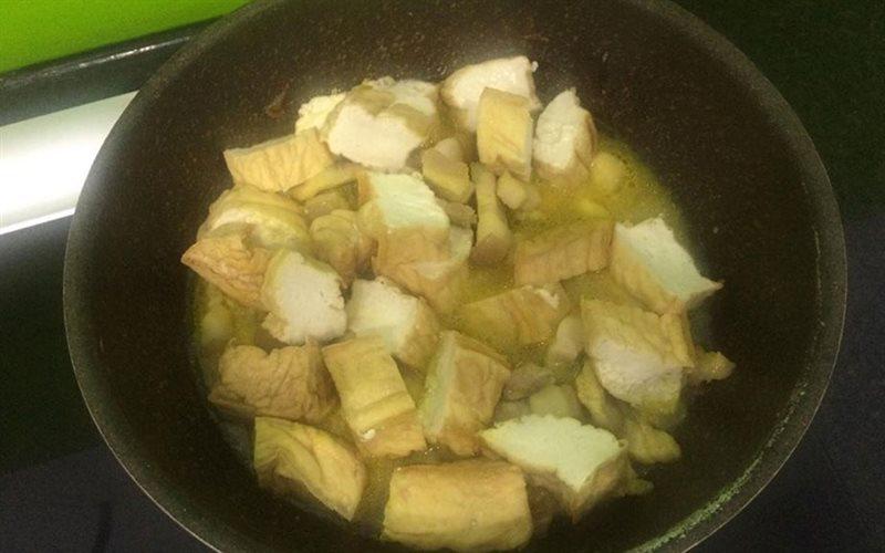 Cách làm món thịt kho đậu hũ