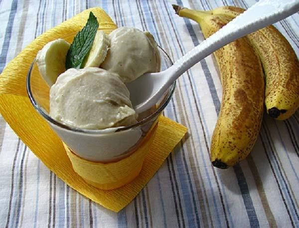 cách làm kem chuối đơn giản
