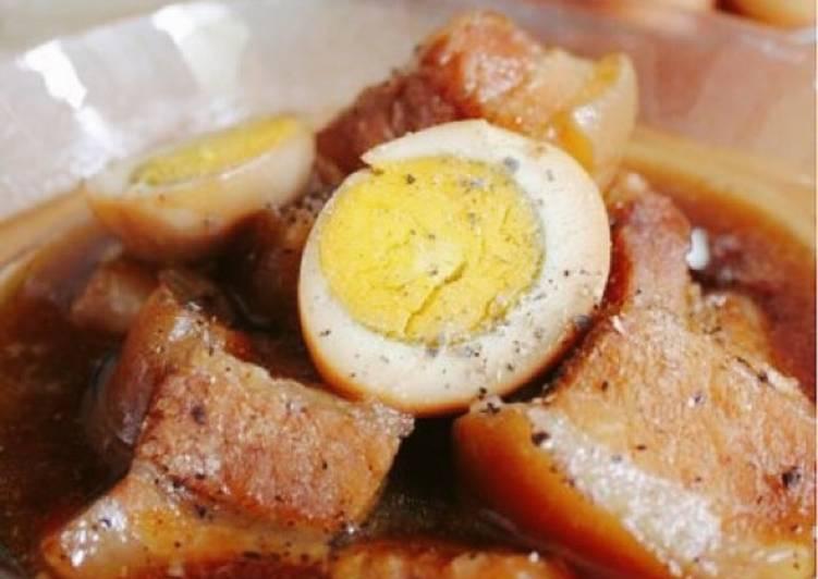 Cách làm thịt kho hột vịt đơn giản