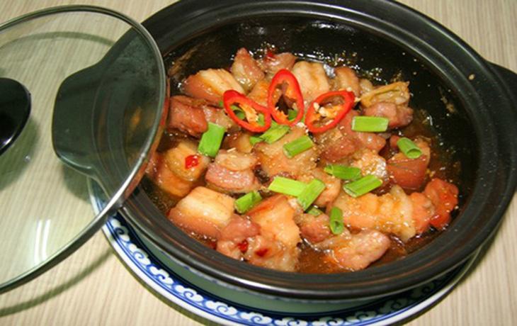 Cách nấu thịt kho tộ
